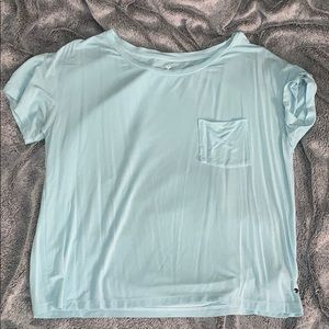 Soft and sexy blue XS American eagle tee💙